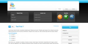 dfmarine wordpress theme