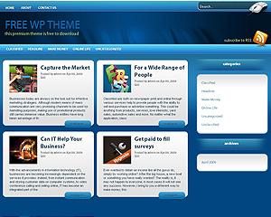 trily free wordpress theme