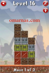 Move the Box Solutions Cheats : Hamburg Level 16 Move the brown box, top row, left. Move the same brown box right.