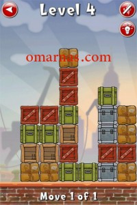 Move the Box Solutions Cheats : Hamburg Level 4 Move the red box, third row from top, right.