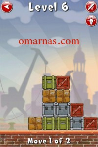 Move the Box Solutions Cheats : Hamburg Level 6 Move the green box on the top, left. Move the same green box down.