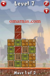 Move the Box Solutions Cheats : Hamburg Level 7 Move the green box, third row from top, left. Move brown box, middle row, right end, right.