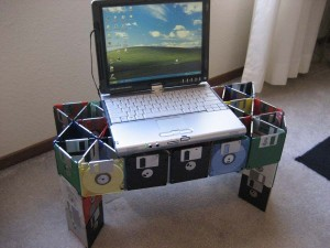 Floppy Disk Laptop Desk cooler